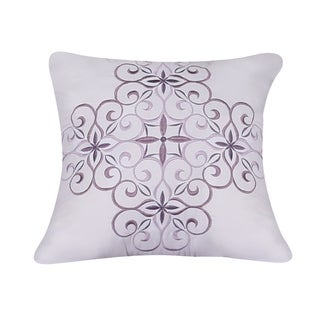 Isabelle Embroidered 18 Inch Decorative Throw Pillow
