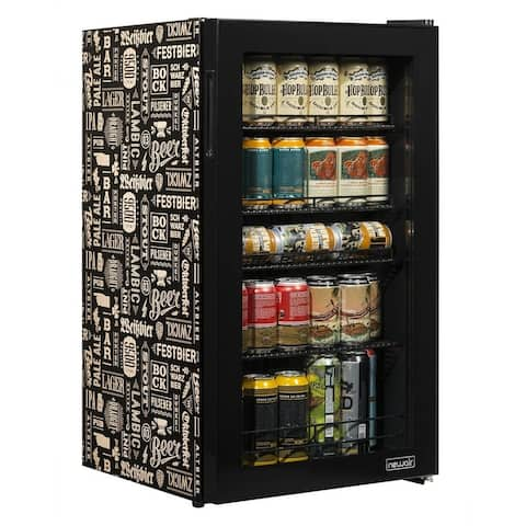 "NewAir AB-1200BC1 26-Can Custom Designed ""Beers of the World"" Beverage Cooler"