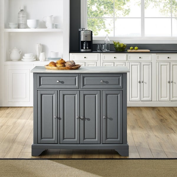 Shop Avery Kitchen Island - Free Shipping Today - Overstock ...