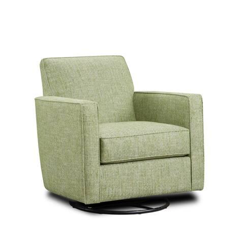 Baja Palm Swivel Glider Arm Chair