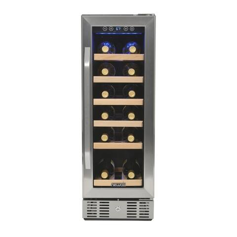 Newair AWR-190SB Compact 19 Bottle Compressor Wine Cooler