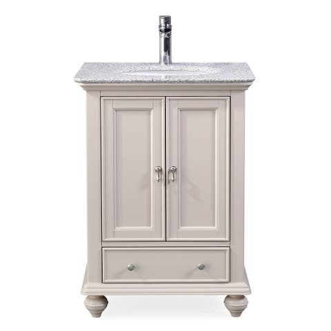 "25"" Tennant Brand Gillian Powder Room Taupe Bathroom Vanity"