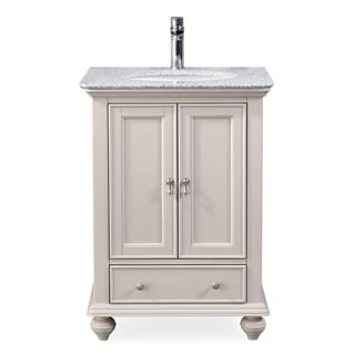 "25"" Tennant Brand Gillian Powder Room Taupe Bathroom Vanity"