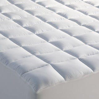 Cooling Down Alternative Mattress Pad with Coolmax Cotton Blended Cover