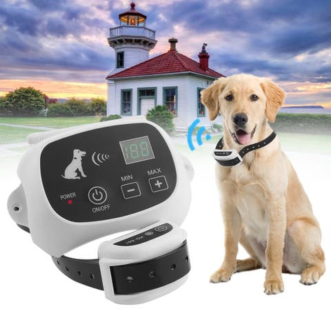 Rechargeable Waterproof 1/3 Dog Fence No-Wire Pet Containment System