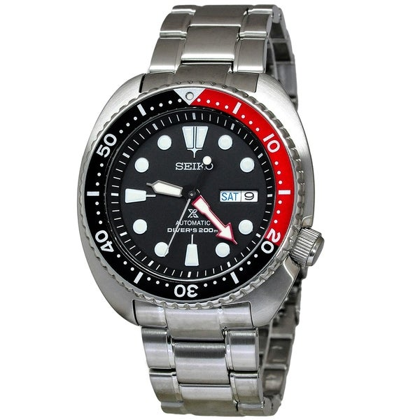 Seiko Srp789k1 Prospex Black Dial Watch
