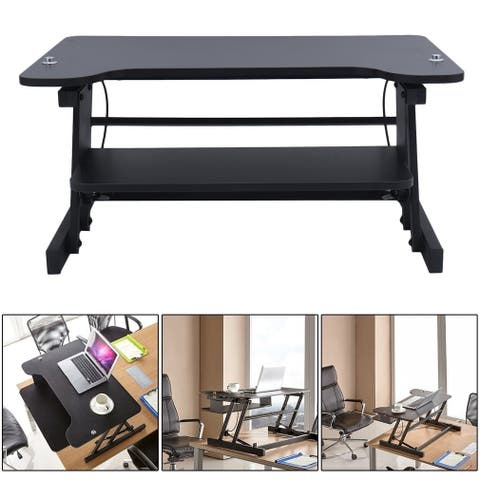 Height Adjustable Standing Desk Lifting Notebook Desk Computer Table