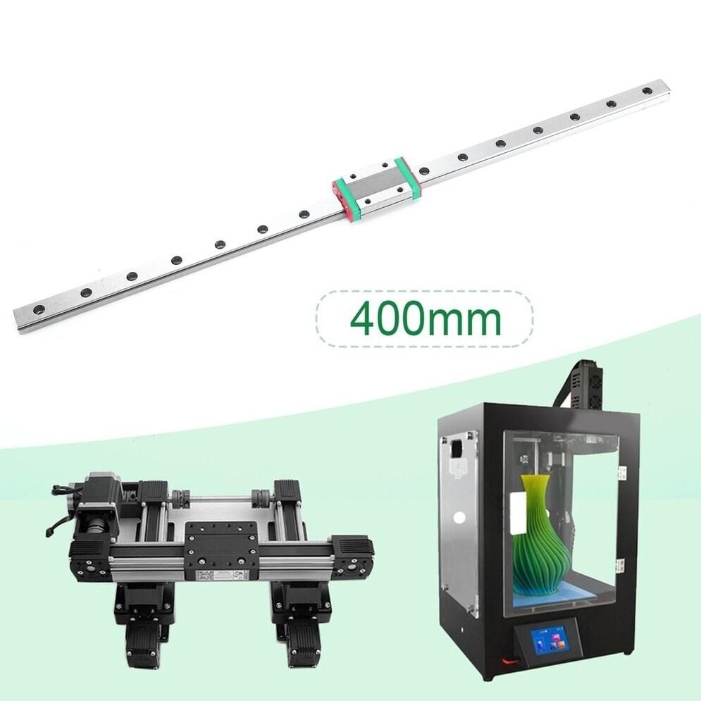 Slide Guide 18mm Width for DIY 3D Printe Linear Slider 400MM Mini with Bearing Slider Blocks High Accuracy Steel Slider Block