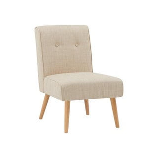Link to Carson Carrington Trondelag Button Tufted Armless Chair Similar Items in Accent Chairs