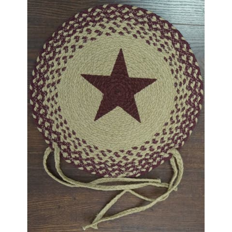 Star 15 Round Burgundy