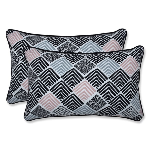 Shop Belk Shadow Rectangular Throw Pillow (Set Of 2)   On Sale   Free  Shipping Today   Overstock   27201403