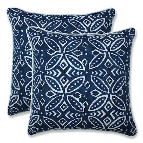 Merida Indigo 16.5-inch Throw Pillow (Set of 2)