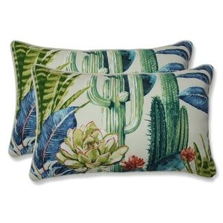 Hatteras Garden Rectangular Throw Pillow (Set of 2)
