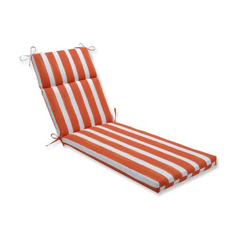 Porch & Den Lakeview Striped Chaise Lounge Cushion