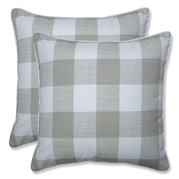 Shop Anderson Buffalo Check 18 5 Inch Throw Pillow Set Of