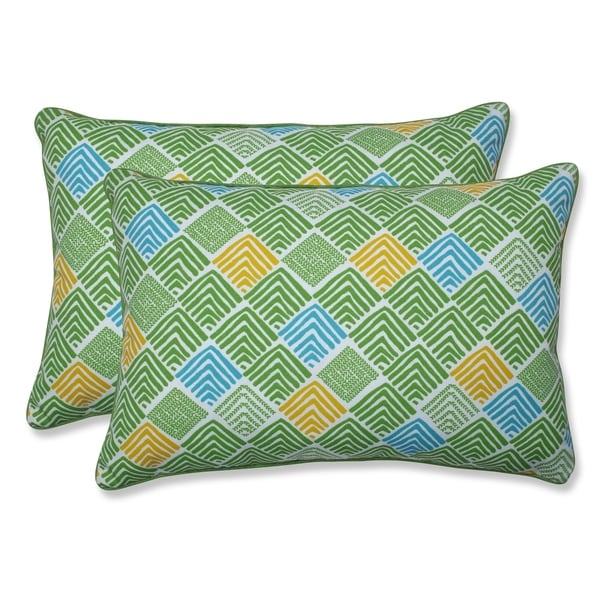 Bon Shop Belk Seaglass Over Sized Rectangular Throw Pillow (Set Of 2)   On Sale    Free Shipping Today   Overstock   27202160