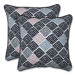 Belk Shadow 16.5-inch Throw Pillow (Set of 2)