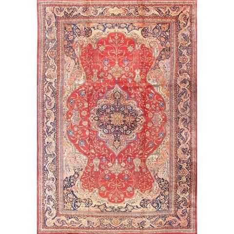 """Antique Ferehan Wool Rug 13'7""""x20'3"""" - 14' x 20'"""