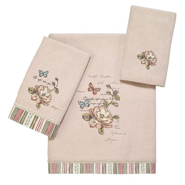 Butterfly Garden II 3 Pc Towels Set