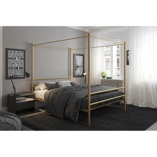 Avenue Greene Knox Metal Canopy Bed