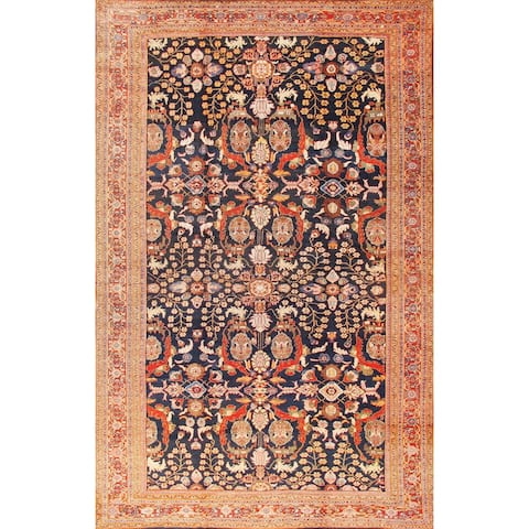 Antique Sultanabad Oversize Rug x - 12' x 19'