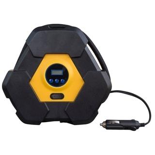 12 Volt Portable Automotive Digital Tire Inflator Pump - Black