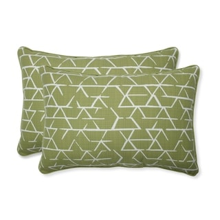 Kengo Artichoke Oversized Rectangular Throw Pillow Set of 2)