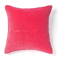 Cottage Home Evan Hot Pink Cotton Sham