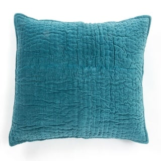 Cottage Home Evan Teal Cotton Sham