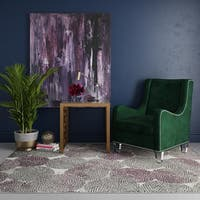 CosmoLiving Lush Collection Bloom Wildflower rug