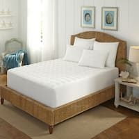 MGM at Home Platinum 400 Thread Count Overfilled Mattress Pad
