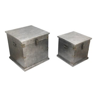 Aurelle Home Industrial Storage Boxes (Set of 2)
