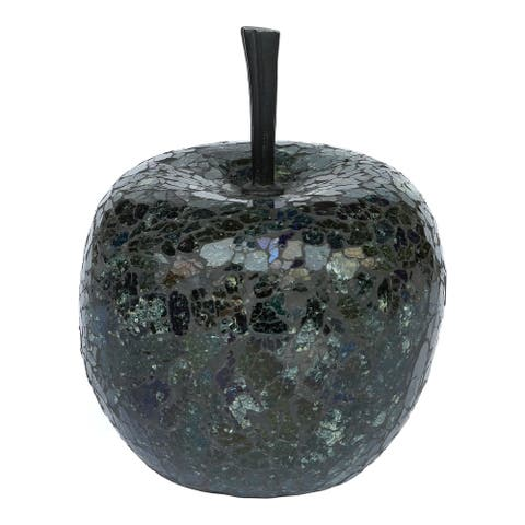 Aurelle Home Natural and Reclaimed Apple Sculpture