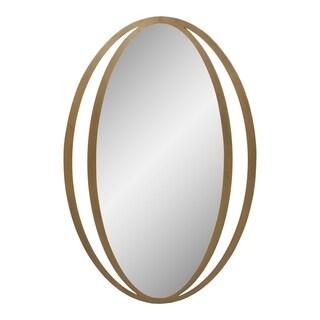 Aurelle Home Gold Iron Contemporary Mirror