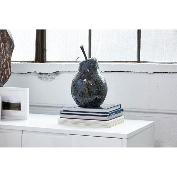 Aurelle Home Natural and Reclaimed Pear Sculpture