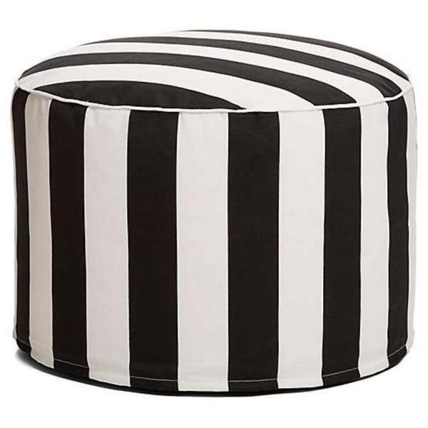 Swell Shop Havenside Home Cabana 27 Inch Outdoor Beanbag Pouf Evergreenethics Interior Chair Design Evergreenethicsorg