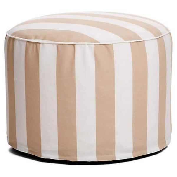 Groovy Shop Havenside Home Cabana 27 Inch Outdoor Beanbag Pouf Evergreenethics Interior Chair Design Evergreenethicsorg