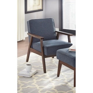 Simple Living Sonia Fabric Upholstery Chair