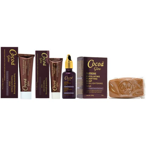 Cocoa Glow Soap, Cream, Serum & Gel Set