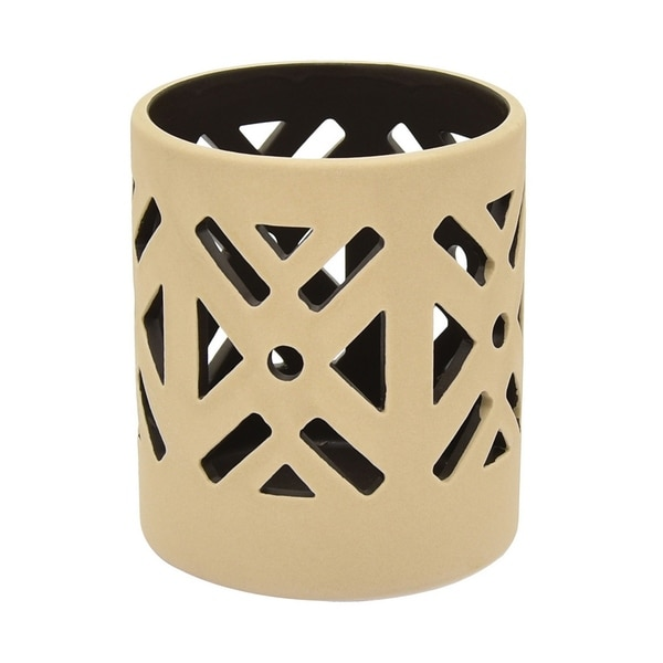 Three Hands Ceramic T - Light Holder