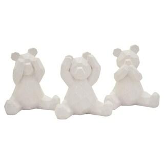 Three Hands Set Of Three Bears