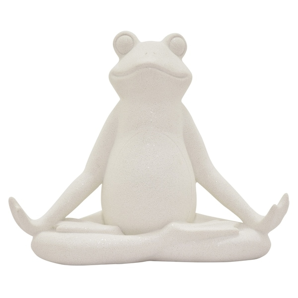 Three Hands Yoga Frog
