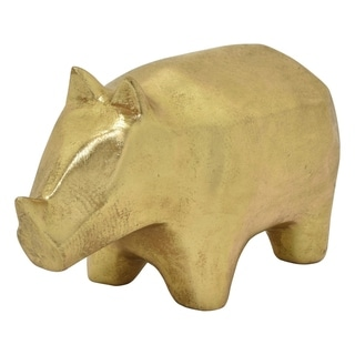 Three Hands Rhino Tabletop - Gold