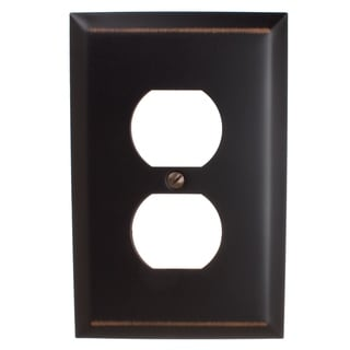 Link to GlideRite 1-gang Outlet Wall Plate Cover Oil Rubbed Bronze (Pack of 3) Similar Items in Lighting Components