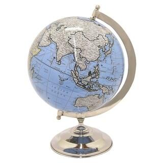 "Three Hands Globe 5"" - Nickel Base"