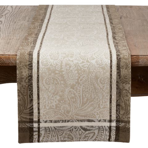 Saro Lifestyle Indian Block Print Table Runner