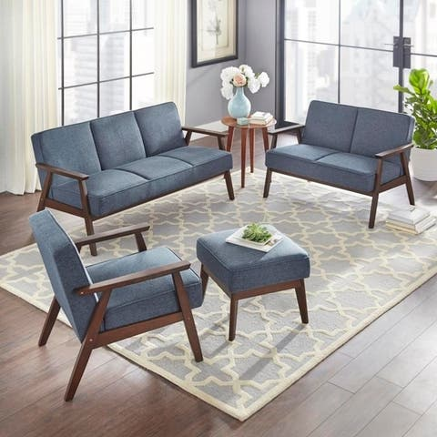 Miraculous Buy Blue Fabric Living Room Furniture Sets Online At Download Free Architecture Designs Scobabritishbridgeorg
