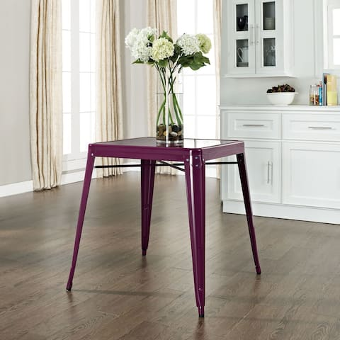 Amelia Cafe Table in Purple