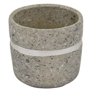 Three Hands Flower Pot Gray & Silver
