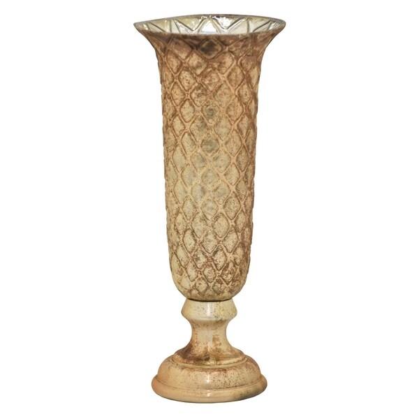 Three Hands Glass Vase